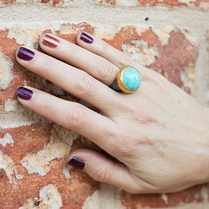 Troy Turquoise Ring 29013_a