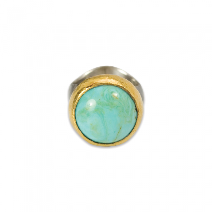 Troy Turquoise Ring 29013_b