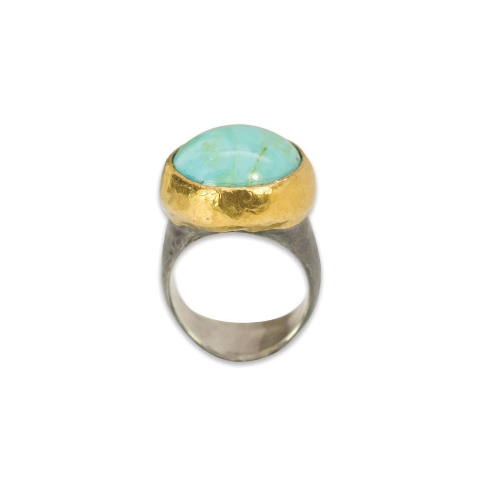 Troy Turquoise Ring