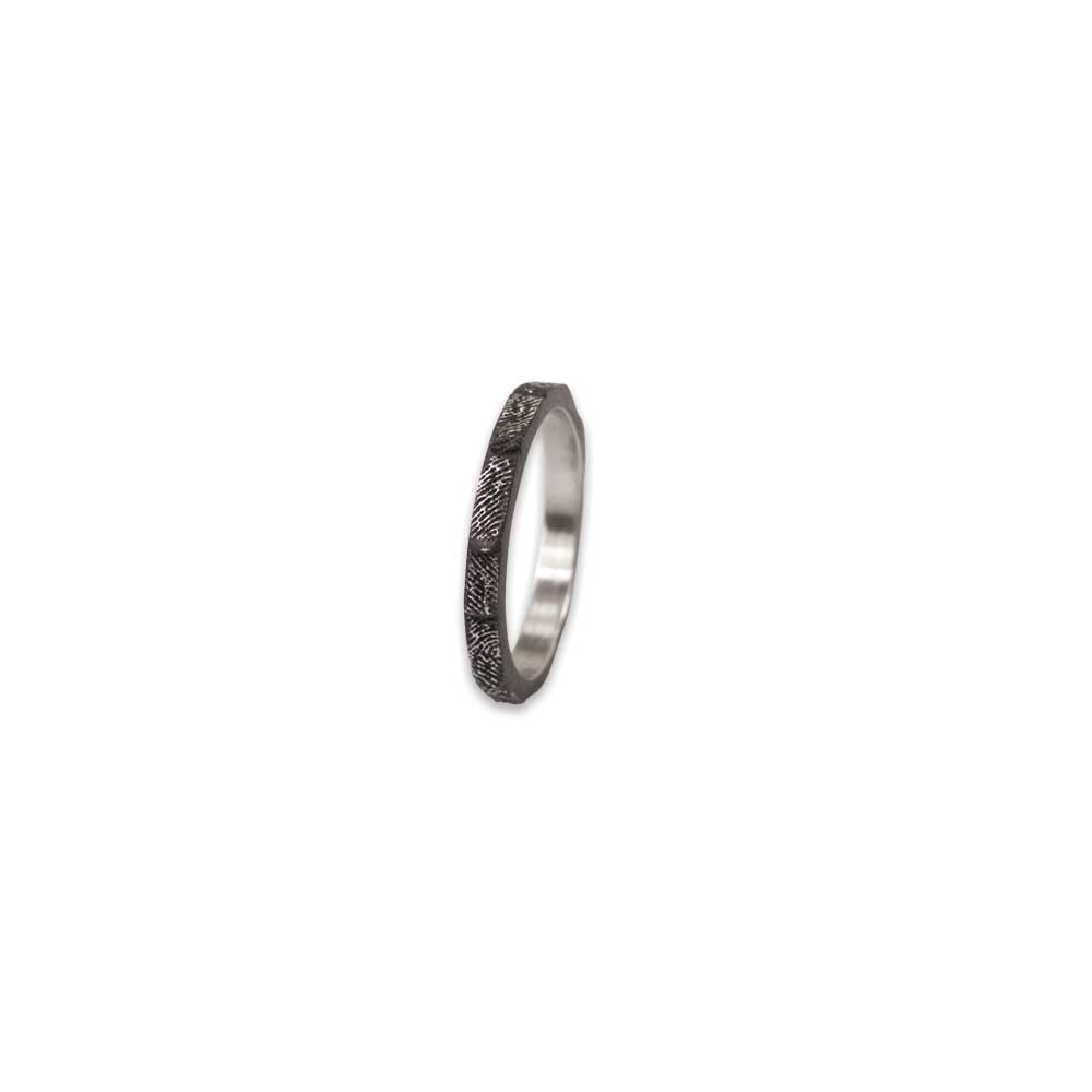 Cobalt Chrome Fingerprint Band