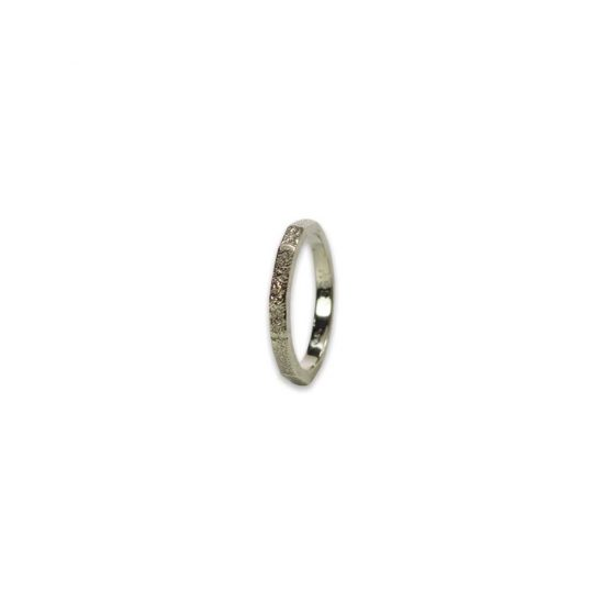 2.5mm Custom Fingerprint Ring