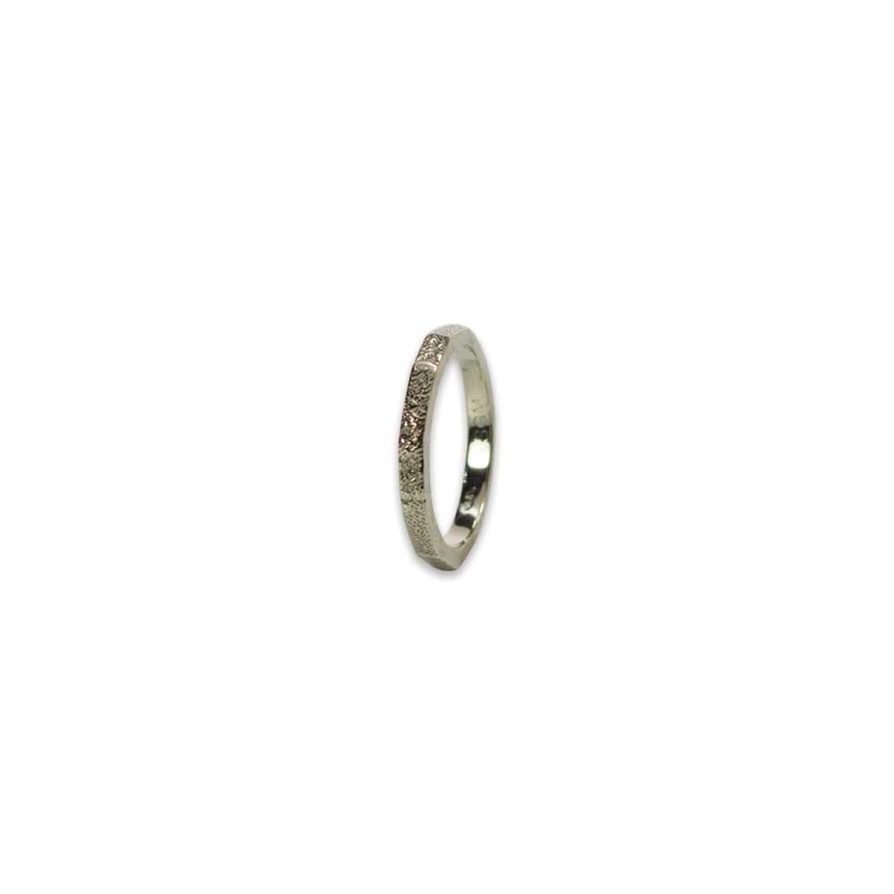 2.5mm Custom Fingerprint Ring