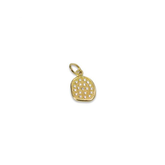 Stardust Pebble Diamond Charm