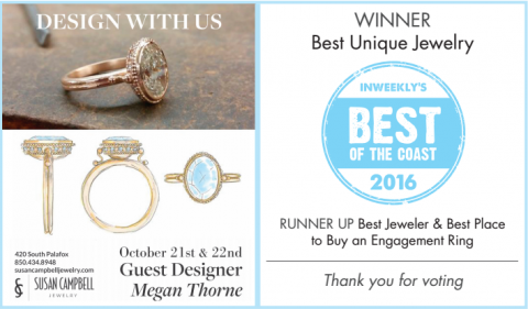 Best of the Coast Winner & Runner Up Best Engagement Ring