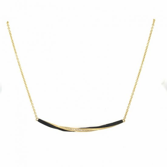 Single Eclipse Bar Necklace