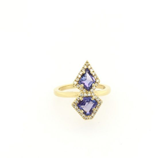 Tanzanite Cocktail Ring