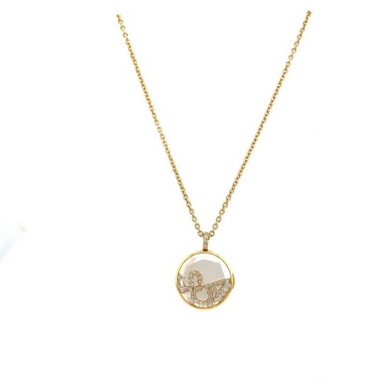 Diamond Letters Locket