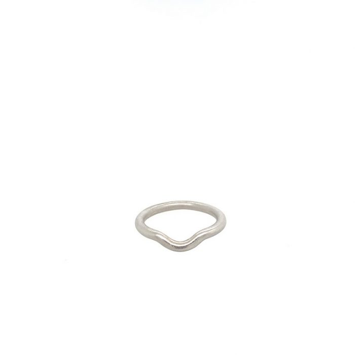 Arched Wedding Band