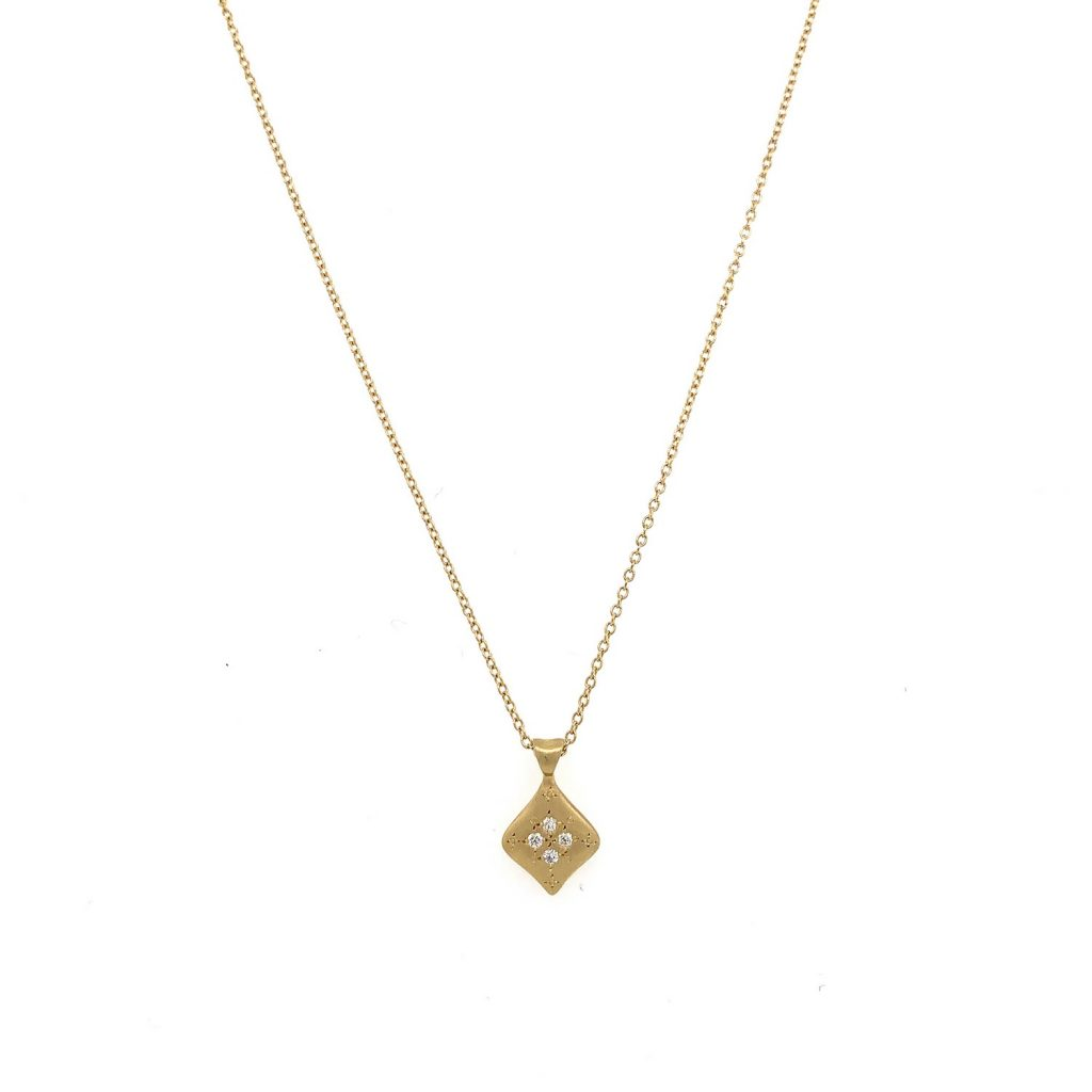 Summer Night Necklace in Gold