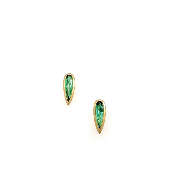 Tourmaline Spike Earrings