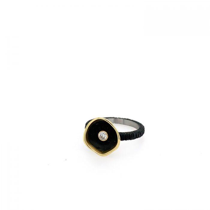 Confluence Single Cup Diamond Ring