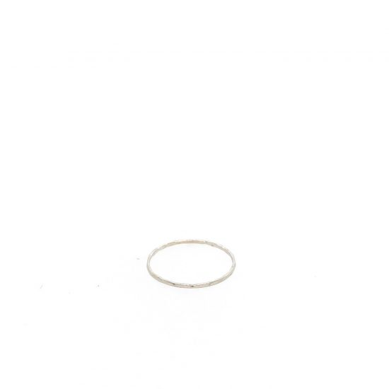 Sterling Thin Stacker Ring