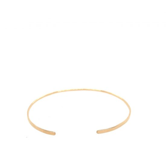 14K Gold Light Cuff