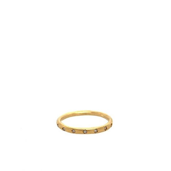 gold band ring from branch jewelry