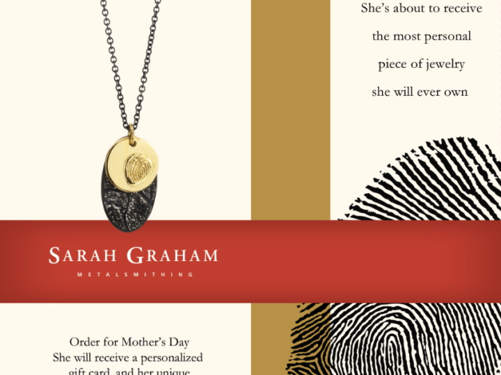 Fingerprint Jewelry for Mothers Day