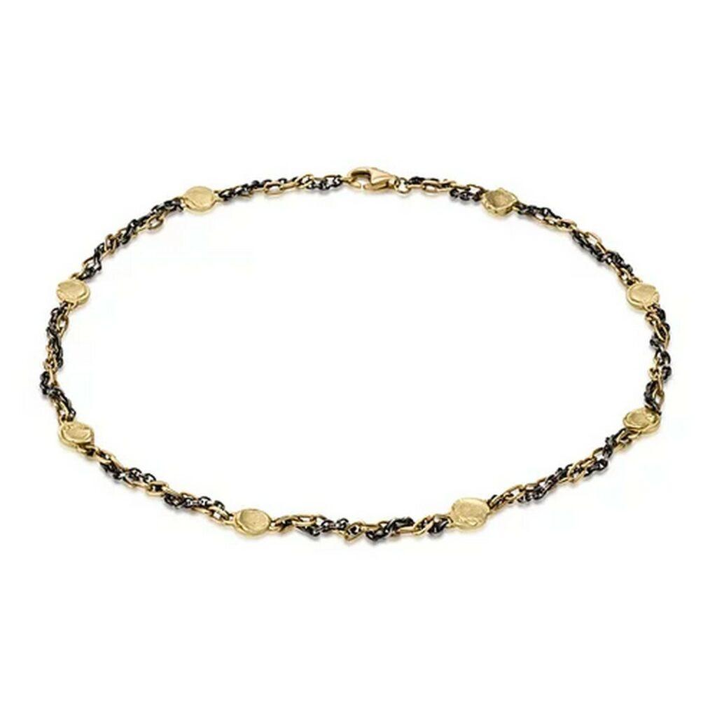 gold fingerprint pendant necklace